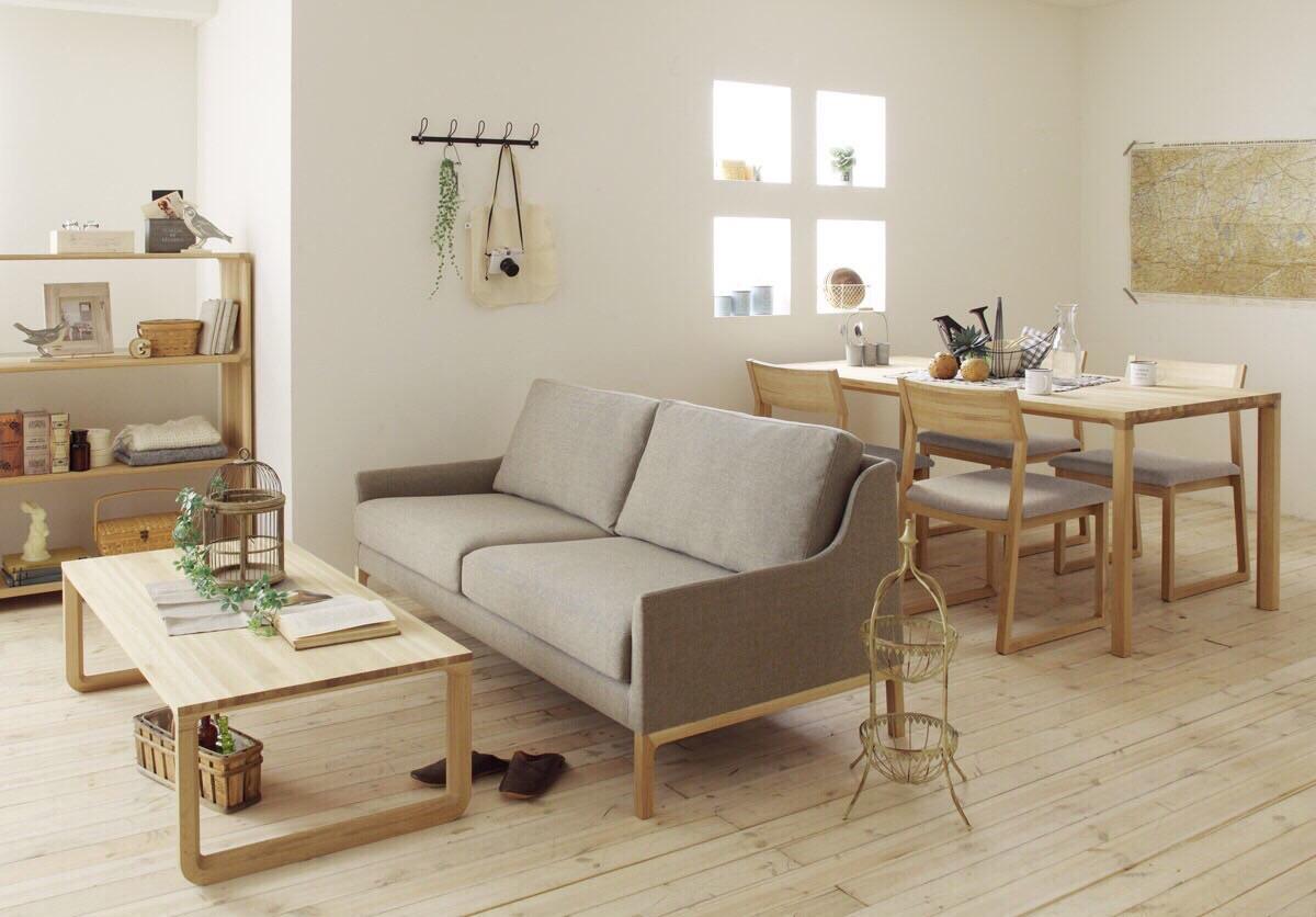 デザイナーズ家具「HARU」シリーズ  木の命を大切に活かす軽やかなフォルム